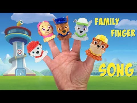 Paw Patrol Family Finger Song Learn Colors for Children | FIzzy Fun Toys