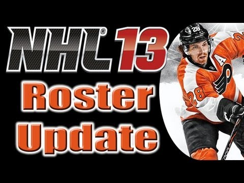 Updating rosters on nhl 13