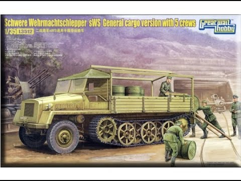 Kit Review:Great Wall Hobby Schwere Wehrmachtschlepper sWS