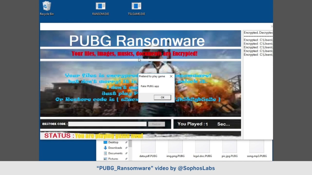 New ransomware forces you to play violent video game
