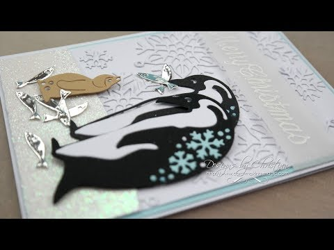 Papercraft Essentials 152 Snowflake Penguins