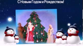 Дети сш 15 г. Алчевска на празднике Нового года в Луганске.