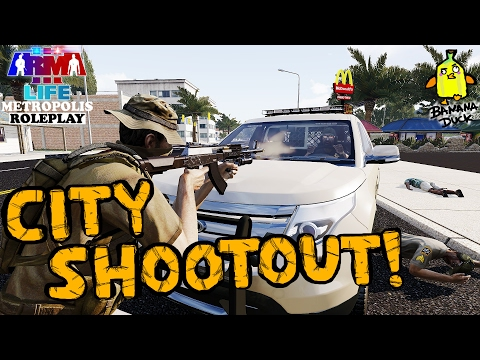 Arma 3 Life | Metropolis! CITY SHOOTOUTS!