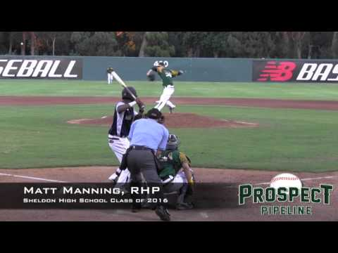 Matt Manning Prospect Video 2, RHP, Sheldon High School Class of 2016, AC Games, Inning 2