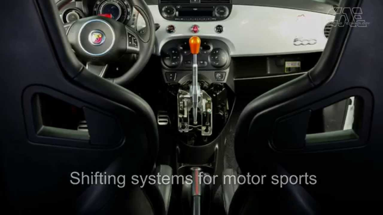 FIAT 500 ABARTH with CAE Ultra Shifter  by CAE RACING