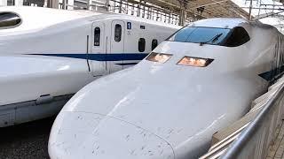 東海道新幹線 700系C49編成  のぞみ301号新大阪行き   京都発車