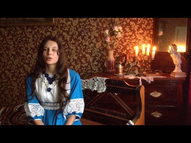 Изображение предпросмотра прочтения – ДарьяФайфер читает произведение «Она сидела наполу…» Ф.И.Тютчева