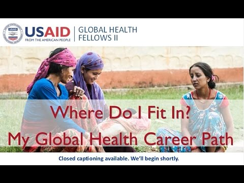 Where Do I Fit In? My Global Health Career Path