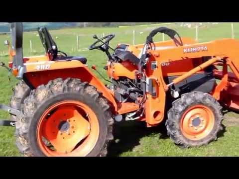 hqdefault kubota l3200 tractor for sale youtube kubota l3400 wiring diagram at fashall.co