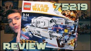 Lego Star Wars 75219 Imperial AT-Hauler Review | Обзор ЛЕГО Звёздные Войны Имперский АТ-Перевозчик