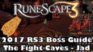 RS3 Fight Caves Guide - How to kill Jad - Get your Firecape now!
