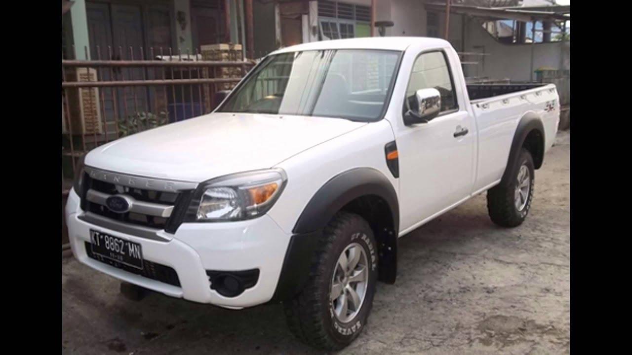 dijual ford ranger singel cabinl 4x4 putih 2011 samarinda hp