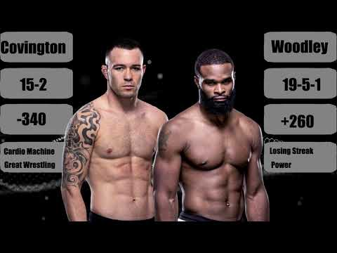 Colby Covington Vs Tyron Woodley Fight Prediction Betting Odds Ufc Fight Night Youtube