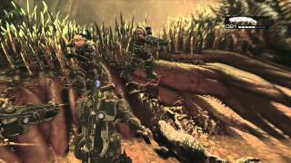 Gears of War 2 #08- Running through the Riftworm