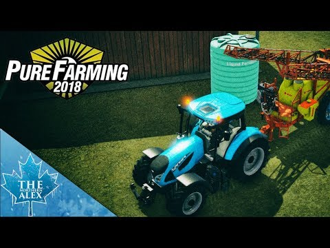 Pure Farming 2018 - Preview -Germany Map