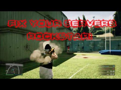 GTA 5 Online | Fix Your Servers Rockstar