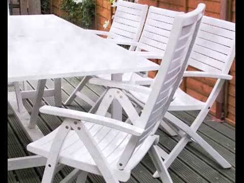 Restaurador muebles jardin plastico youtube for Mesa y sillas plastico jardin