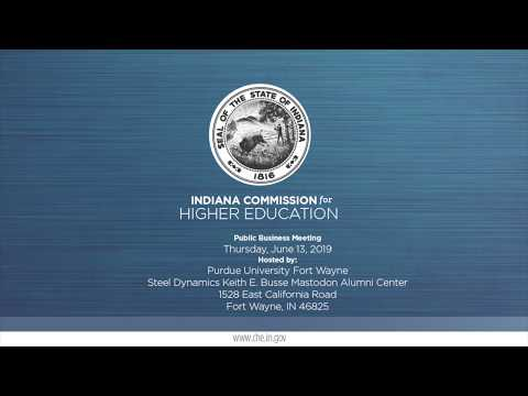 indiana-commission-for-higher-education---public-meeting