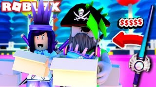He Bought the JEWEL SABER for 15 QUADRILLION COINS! | Roblox Unboxing Simulator