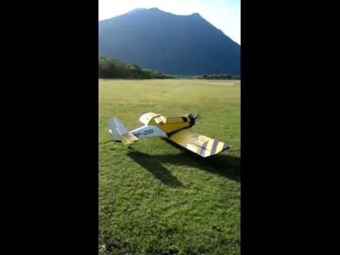 Pzl M18 Dromader - PRM radial engine 150cc - First fly1