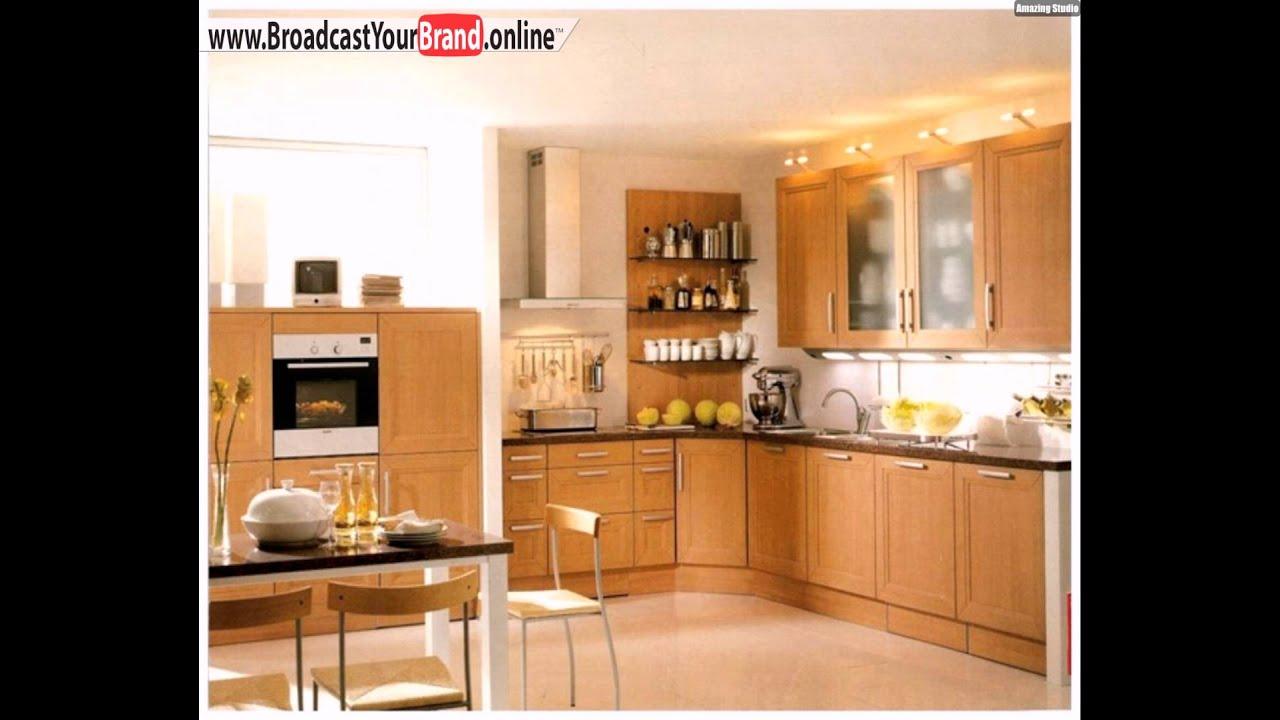 Traditionelle Küche Schrank Ohne Rahmen - YouTube