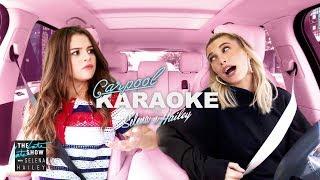 Selena Gomez and Hailey Bieber Carpool Karaoke & Deleted Scenes