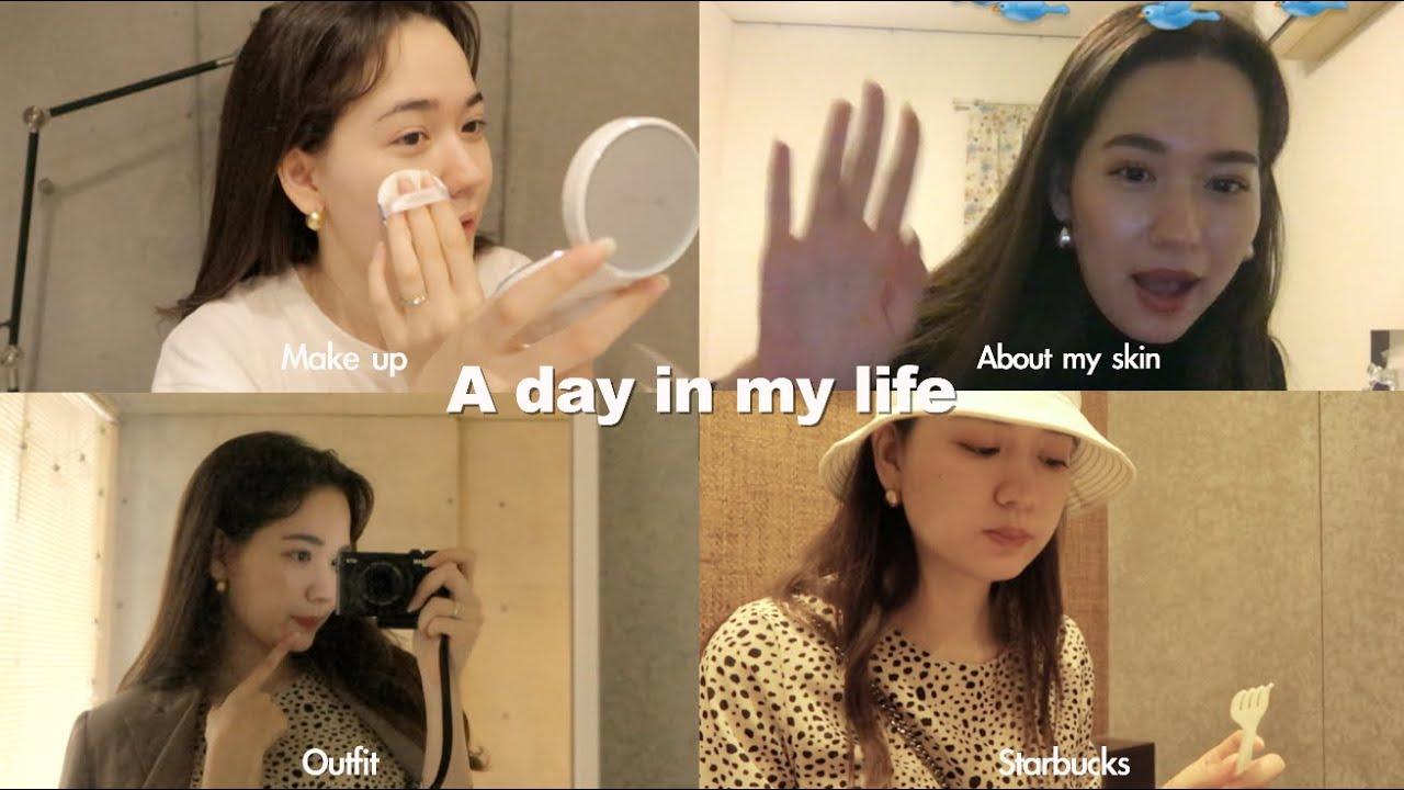 【Short Vlog】初めての医療脱毛/私の肌事情/cafe