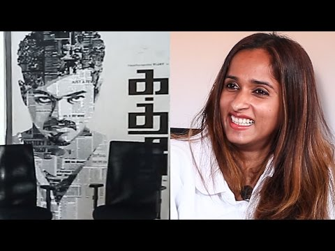 A king size Ilayathalapathy Vijay Poster In Her Office? - Archana Kalpathi Explains | MY 32