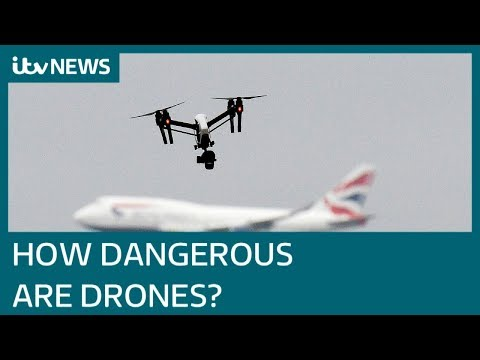 How dangerous are drones? | ITV News
