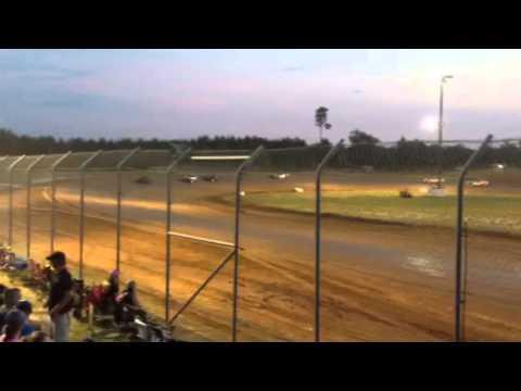 Factory Stock Heat Race Ark-La-Tex Speedway 8/9/14