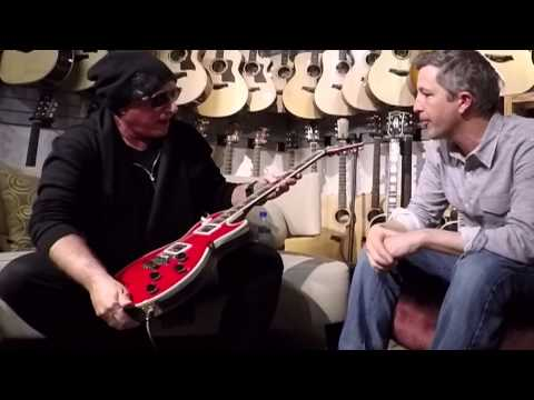 Neal Schon Gibson Les Paul Prototype #1 George Harrison Red