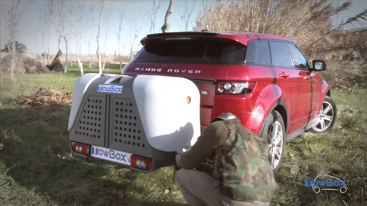 Presentation De La Towbox V2 Coffre D Attelage Et Transport De Chien Youtube