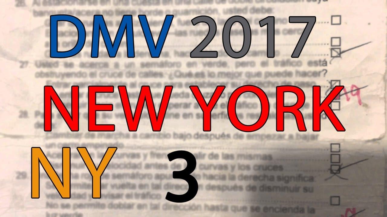 FREE New York DMV Permit Practice Test 2017