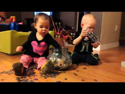 Coin jar play