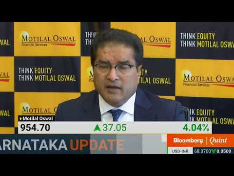 Mr. Raamdeo Agrawal addressing Bloomberg Quint on MOFSL Q4FY18