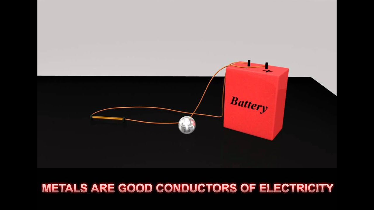 Good Conductors Of Electricity : Metals good conductor of electricity mov youtube