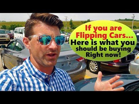 Dealer Car Auction Day – Flying Wheels –