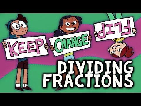 Dividing Fractions with KEEP, CHANGE, FLIP | Fractions Rap Song