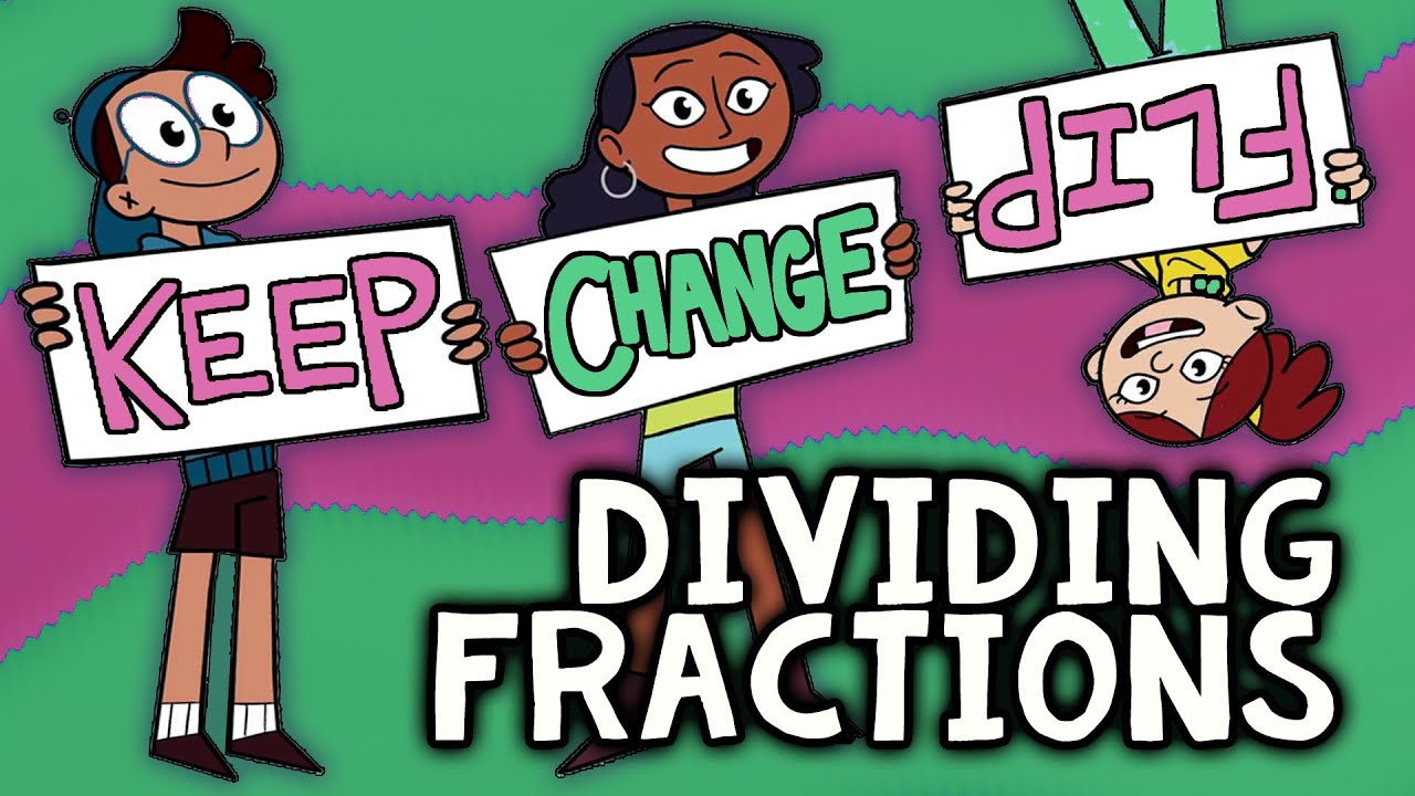 hight resolution of Dividing Fractions with KEEP