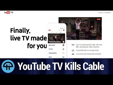 YouTube TV Will End Cable
