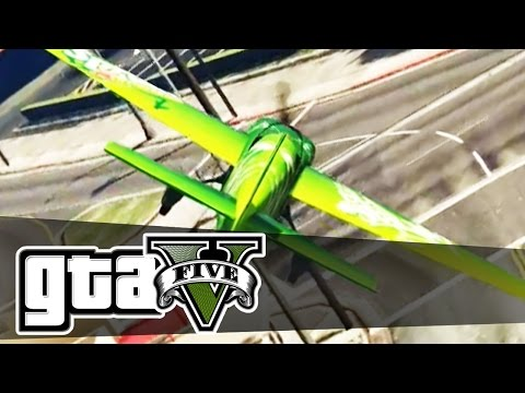 Grand Theft Auto 5 - PLANE RACING - Episode 10 | (GTA 5 Online PC Gameplay) Pungence