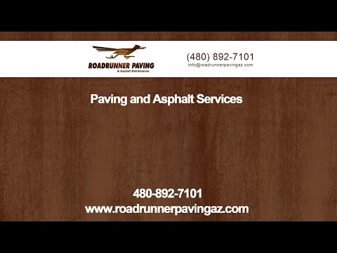 Introduction to Roadrunner Paving & Asphalt Maintenance