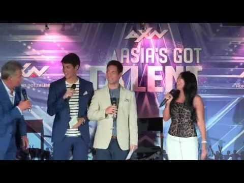 Asia's Got Talent Judges' Reveal (Anggun, David Foster, & Jay Park)