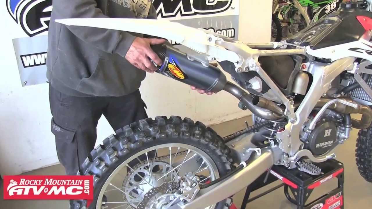 FMF Exhaust - Full System Installation - 2013 Honda ...