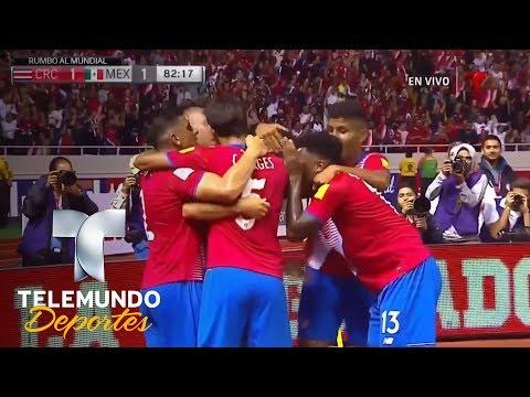 Emotivo Costa Rica y México (1-1):  mejores jugadas | Copa Mundial | Telemundo Deportes