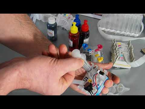 How To Fill And Prime A Ciss For Epson Printers