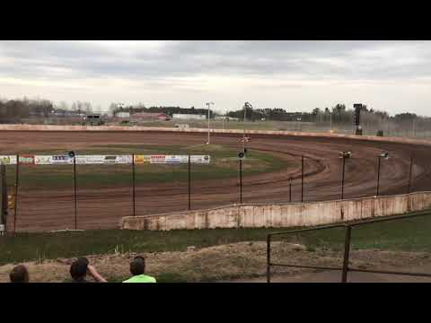 World of outlaw mini mods rice lake speedway 5/3/18