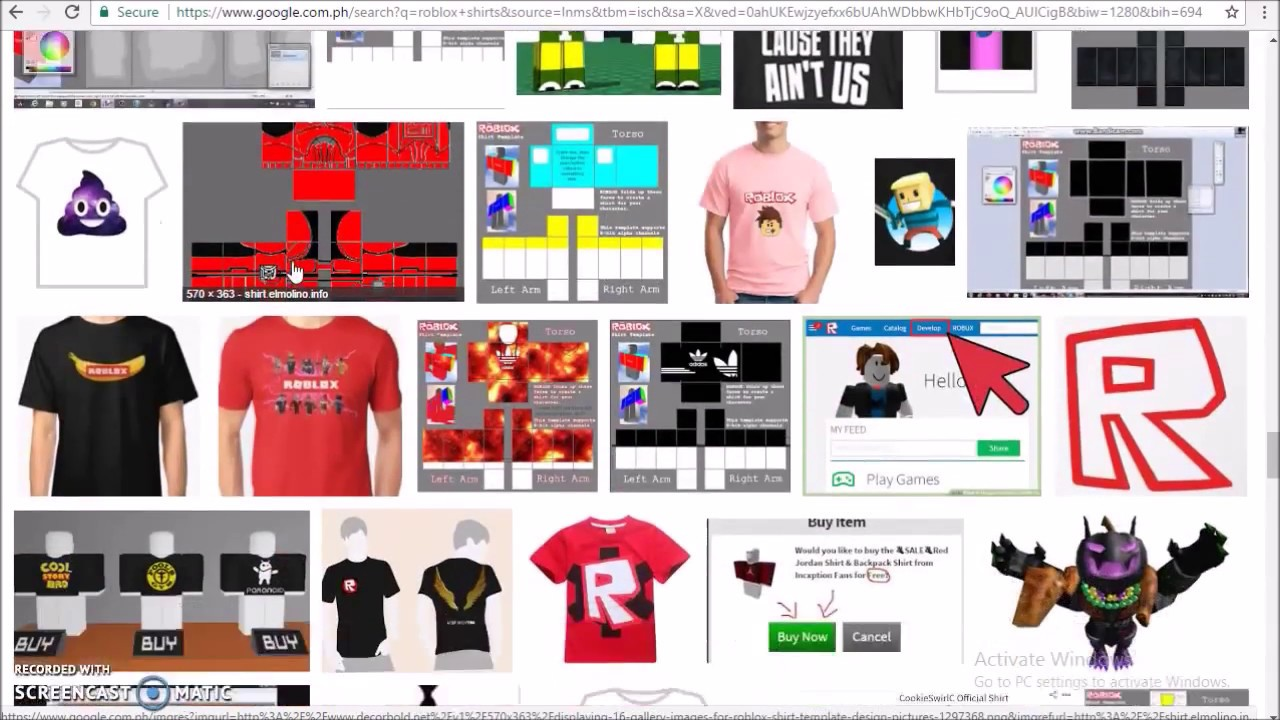 How To Make Free T Shirts On Roblox Youtube