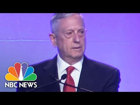 James Mattis On North Korea: 'Military Options Must Be Available' | NBC News