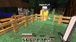 Minecraft Hardcore #4 : สร้างบ้านต้นไม่ (Feat.KNCraZy)